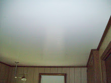 Go from shiny, flat ceilings....