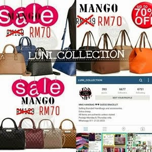 MNG BAGS UP TO 70% OFF!!!!