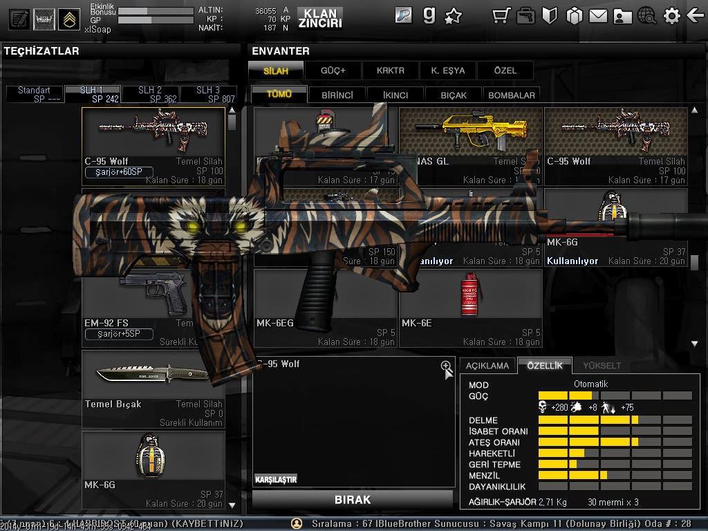 pvRA3L Wolfteam Silah Oyu Hile Kodları Yeni