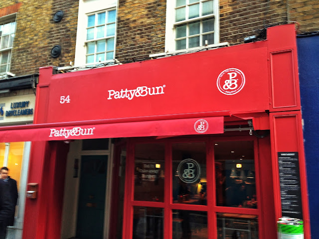 Patty And Bun Shopfront