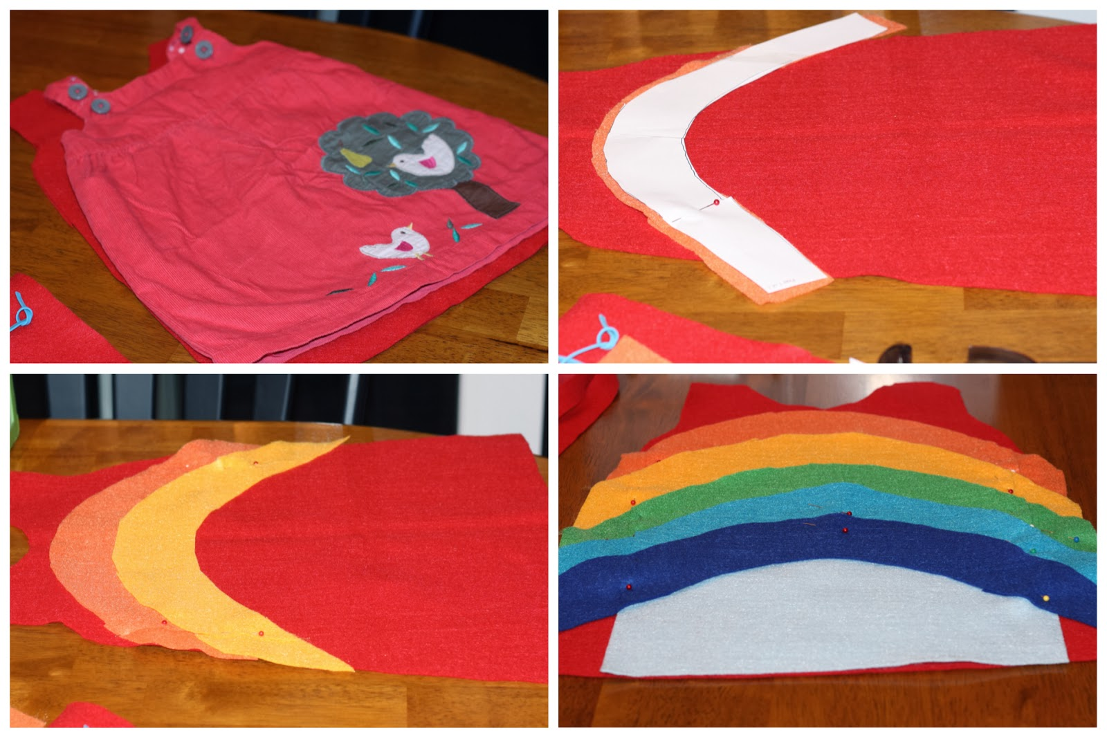 Diy rainbow costume the chirping moms for How to make a rainbow arch