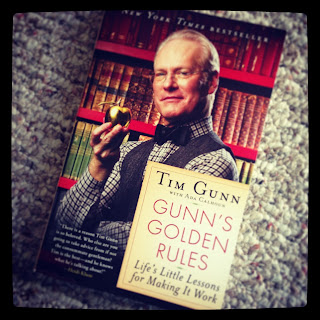 book review, books, good reads, gunn's golden rules, make it work, new york times bestseller, project runway, tim gunn