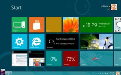 Download Skin Pack Windows 8 Untuk Windows 7 dan XP