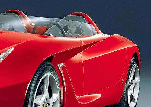Minicar of Brago of age thing. Hot Wheels Ferrari Testarossa. | It is not awfully this design 46 years ago | Main? Ferrari P5 Pininfarina!