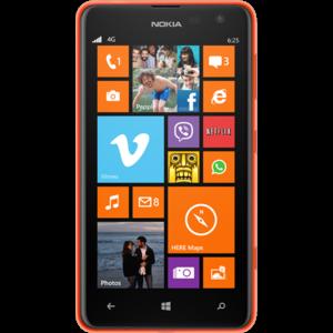 Nokia Lumia 625 (front)
