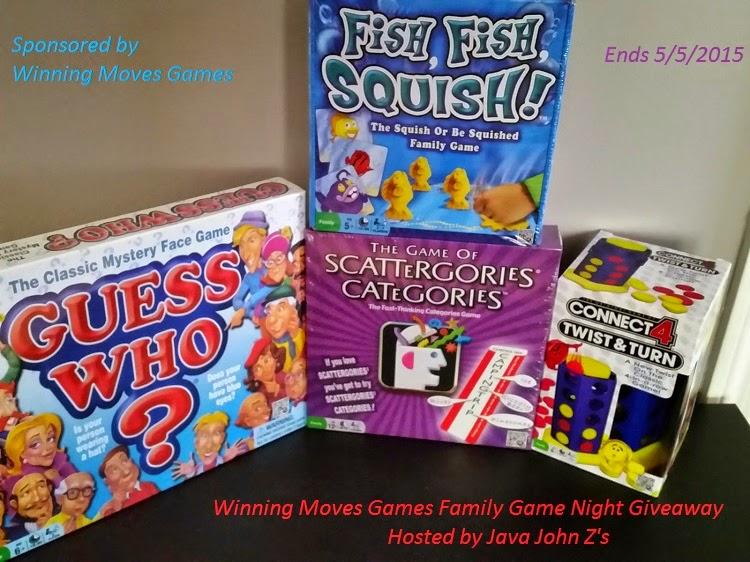 Enter the Winning Moves Games Family Game Night Giveaway Ends 5/5