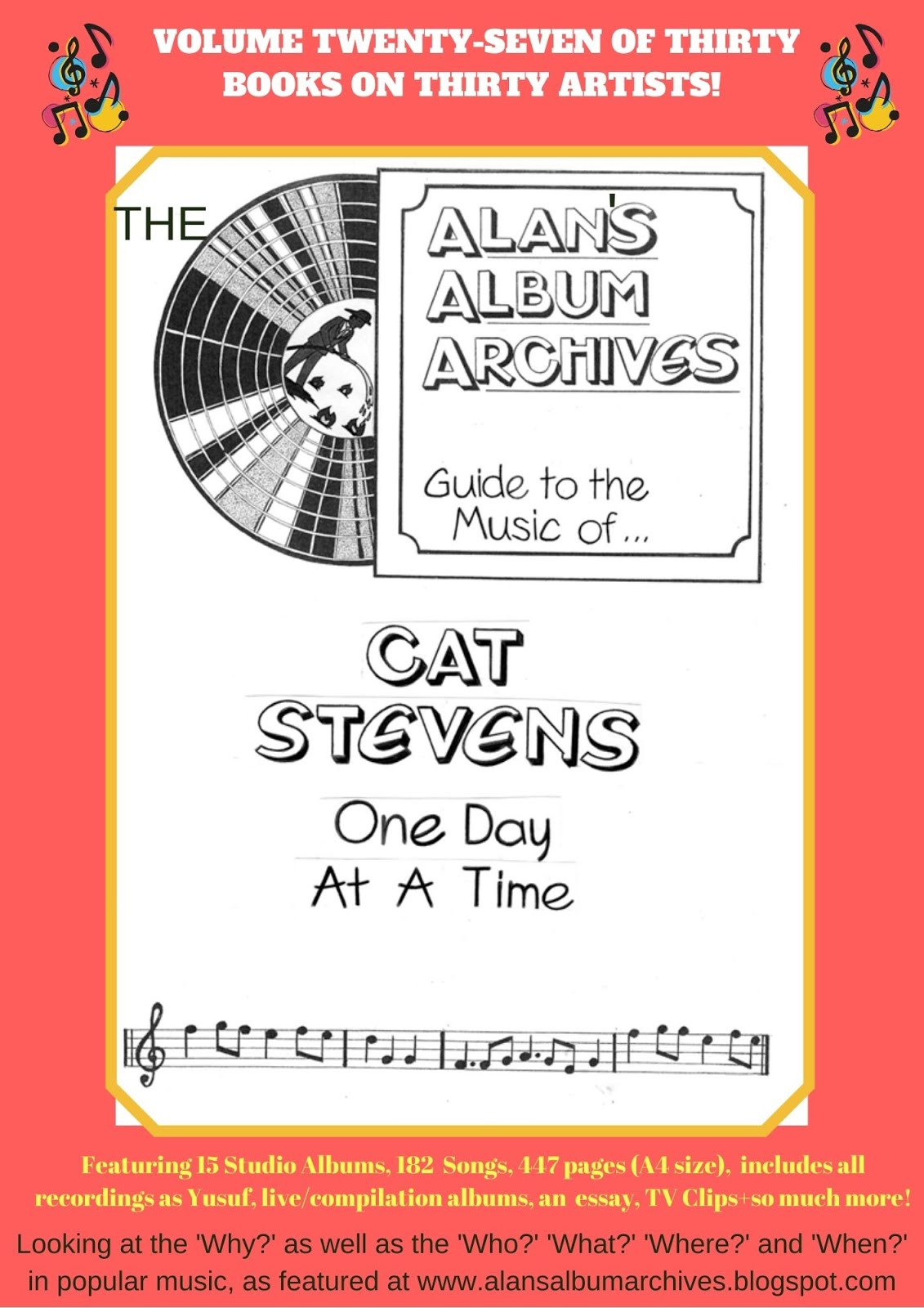 'One Day At A Time - The Alan's Album Archives Guide To The Music Of...Cat Stevens'