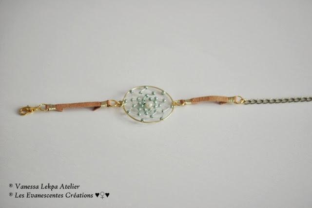 bijoiux attrape rêves traditionnel et bijoux contemporain en perles et cuivre. vanessa lekpa