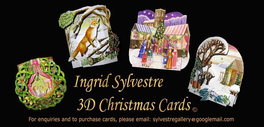 Ingrid Sylvestre 3D Christmas Cards