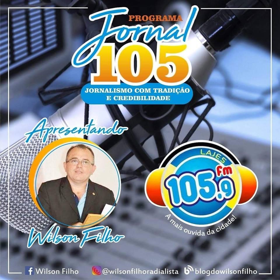 De segunda á sábado ás 11:00 tem Jornal 105