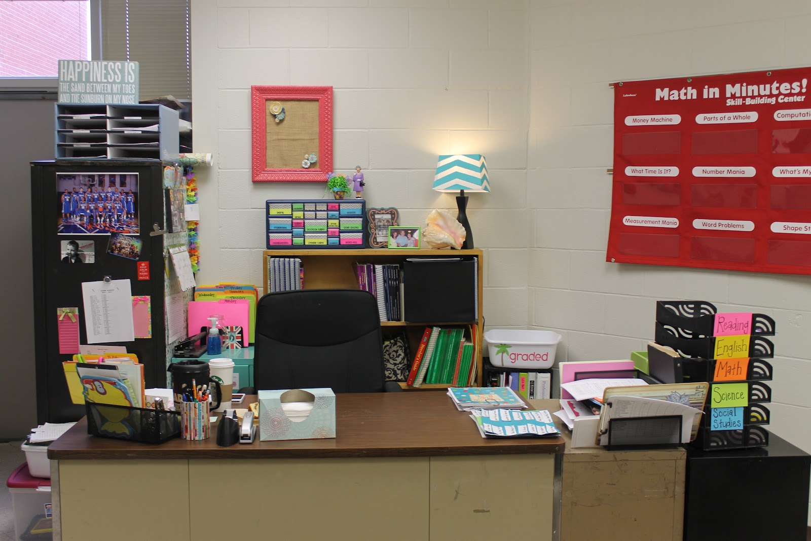 Organized School Desk Clip Art Organized school desk clip
