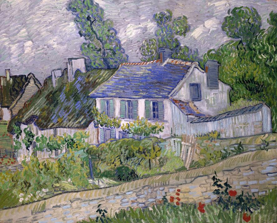 Van Gogh Maisons à Auvers,