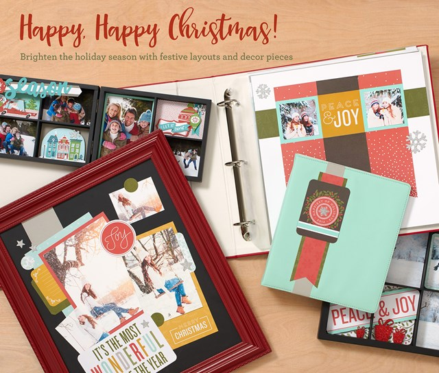 Happy, Happy Christmas Scrapbook Collection