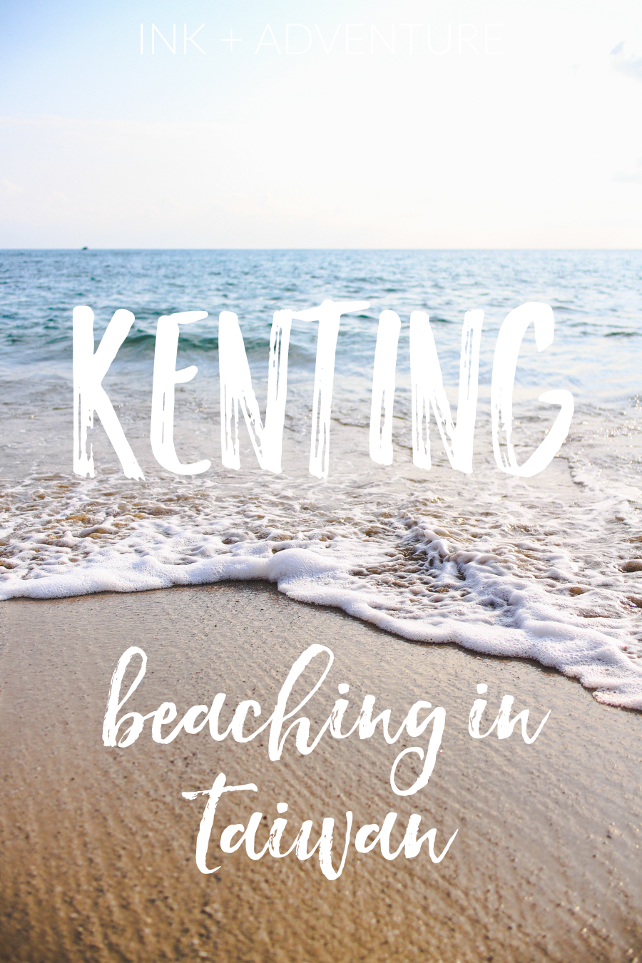 the beach town of Kenting is the perfect place for a sunny Taiwan vacation. while I was there we explored the South Bay and Kenting Beach areas, but the Little Bay or Xiaowan Beach was our favorite spot.