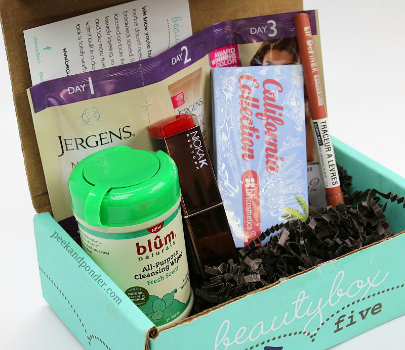 Beauty Box 5 April 2014