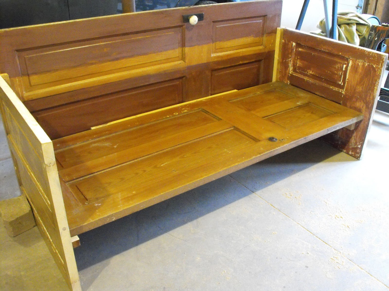 furniture made from doors. At Home With K DIY Door Couch Furniture Made From Doors M