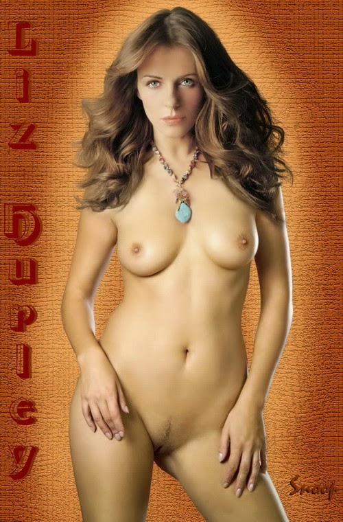 elizabeth hurley beautiful and completely nude