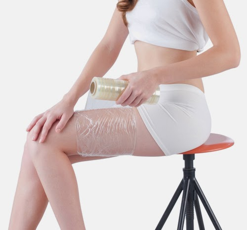 Image result for wrapping cellulite