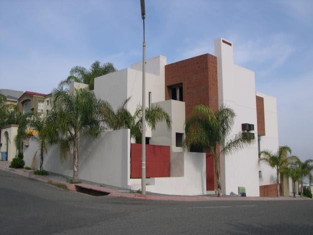 casas mexicanas amplia fachada de casa contempor nea en