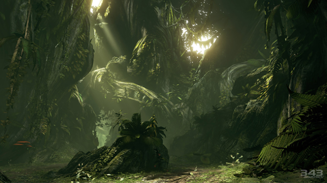 halo 4 forest screen shot 