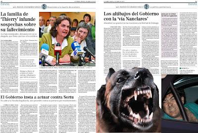 La izquierda española nunca ha renunciado sinceramente a la violencia como medio para lograr de su único fin: el Poder. El poder saquear los Presupuestos Generales del Estado