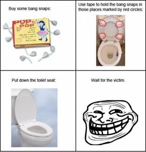 Troll: Amazing Toilet Troll