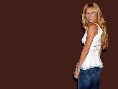 Russian-American Citizen Anna Kournikova Wallpaper