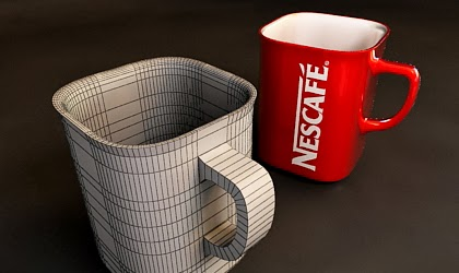 Modelling a Nescafe Mug with 3Ds Max 2010