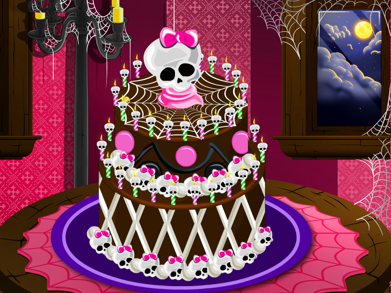 Juegos Monster High | Monster High Special cake