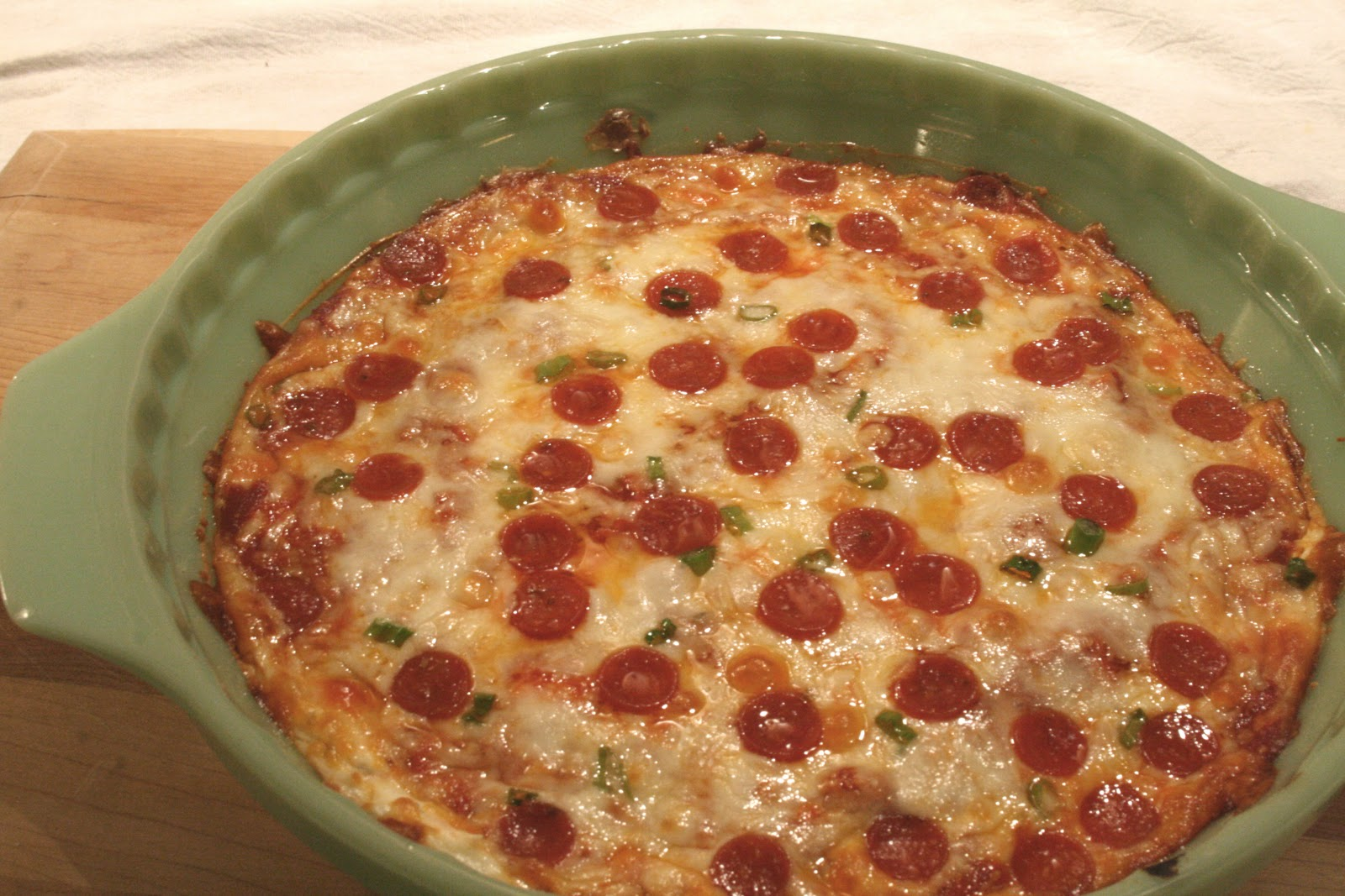 The Nesting Corral: Pizza Dip