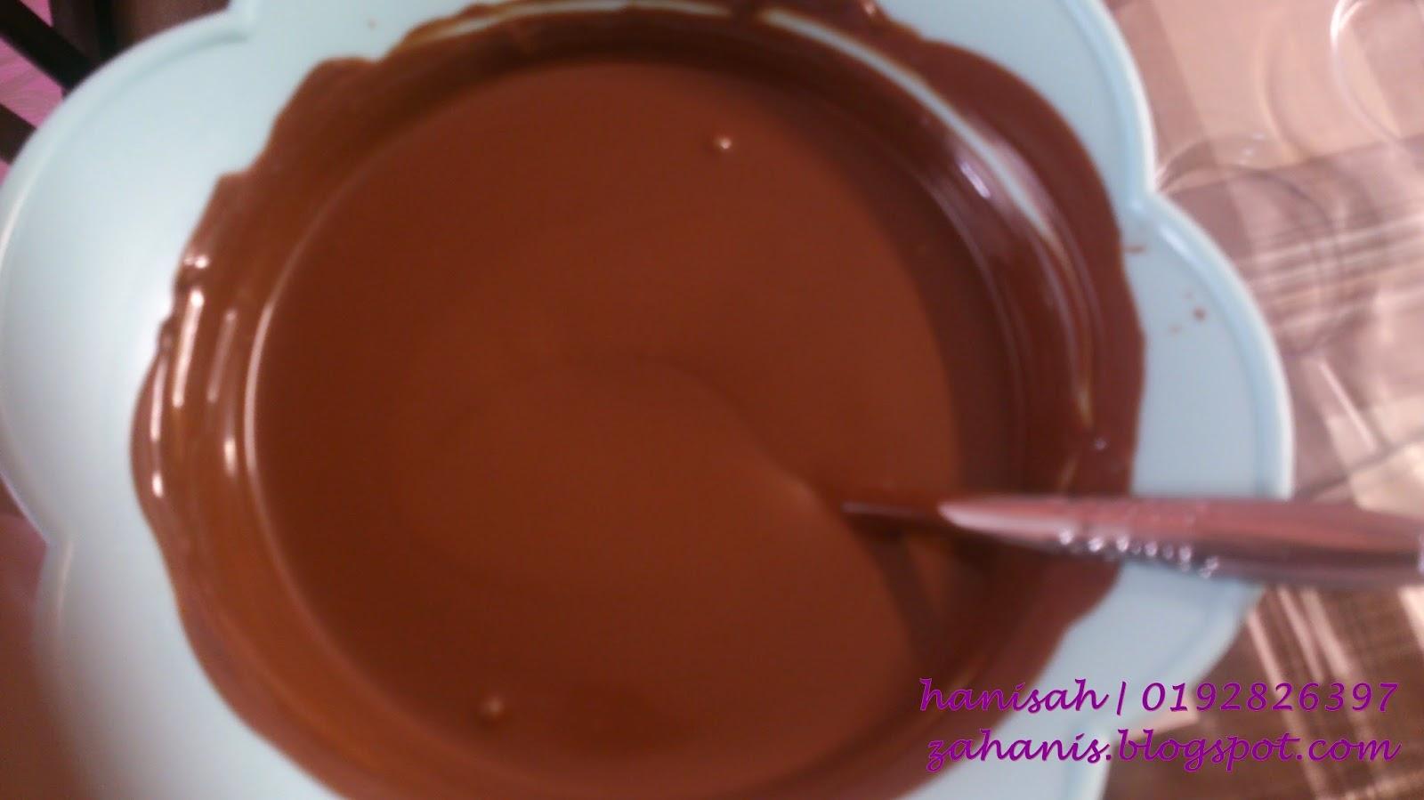 lolipop coklat DIY