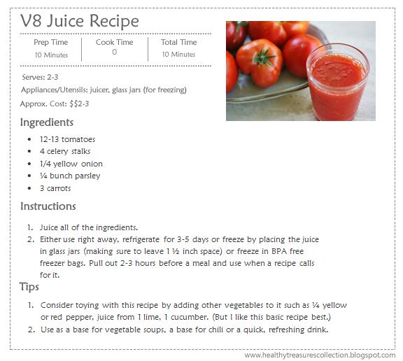 Homemade V8 Fruit Juice Recipe Homemade Ftempo