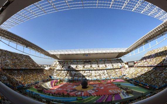 Foto Pembukaan Piala Dunia 2014