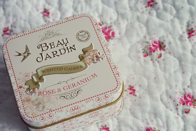 Pretty wild things heathcote ivory candles for Beau jardin hand cream