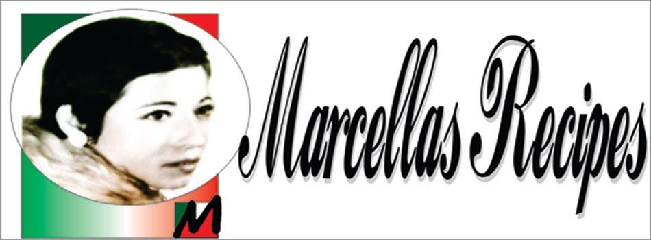 Marcella's recipes