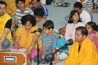 Thanksgiving retreat with Siddheshvari Devi at Radha Madhav Dham 6
