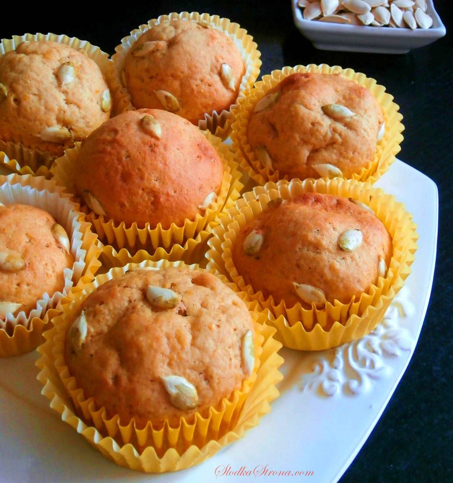 muffinki dyniowe przepis