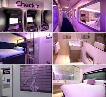Airport Capsule Hotel Rooms