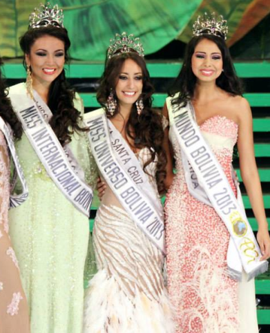 Miss Bolivia Universe 2013 winner Claudia Tavel Antelo