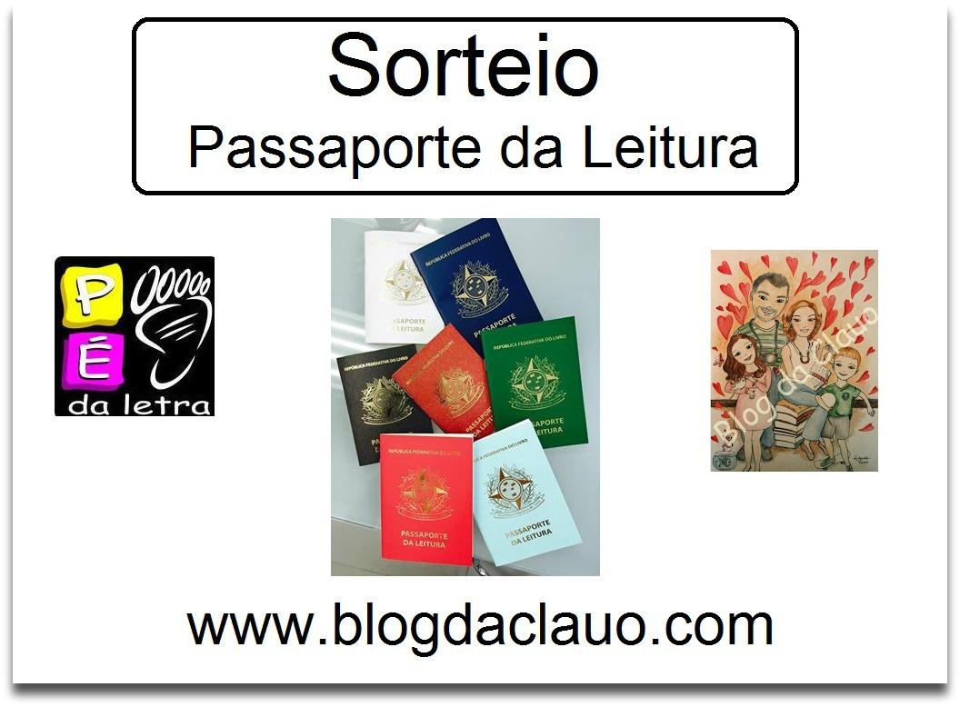 Sorteio do Passaporte da Leitura
