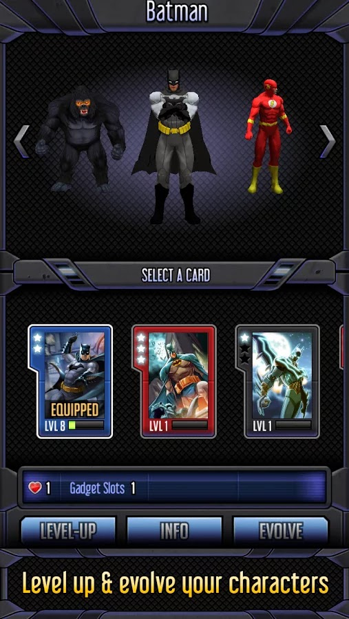 Batman & The Flash: Hero Run v1.1 Mod [Unlimited Money]