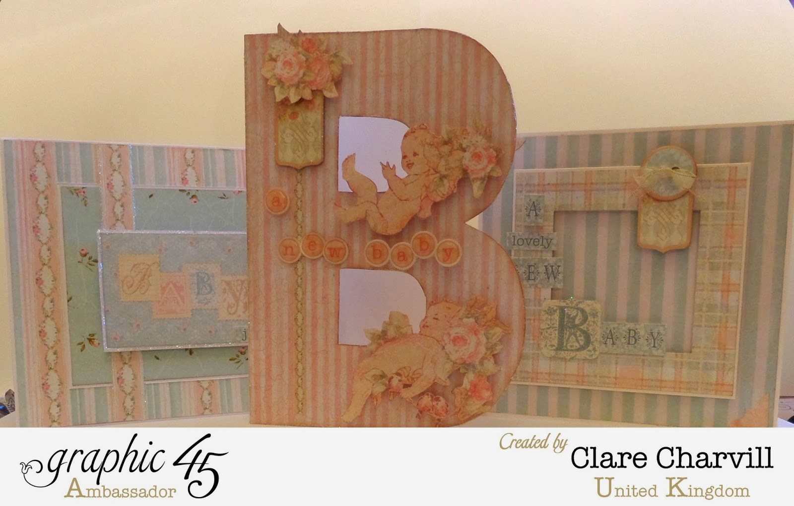Baby to Bride Samples Clare Charvill Graphic 45