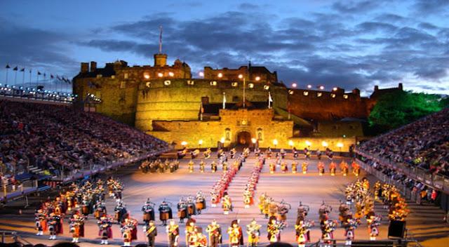 Festival Militar en Edimburgo - Escocia