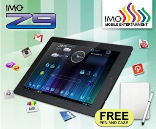 Kelebihan dan Kelemahan Tablets IMO Z9