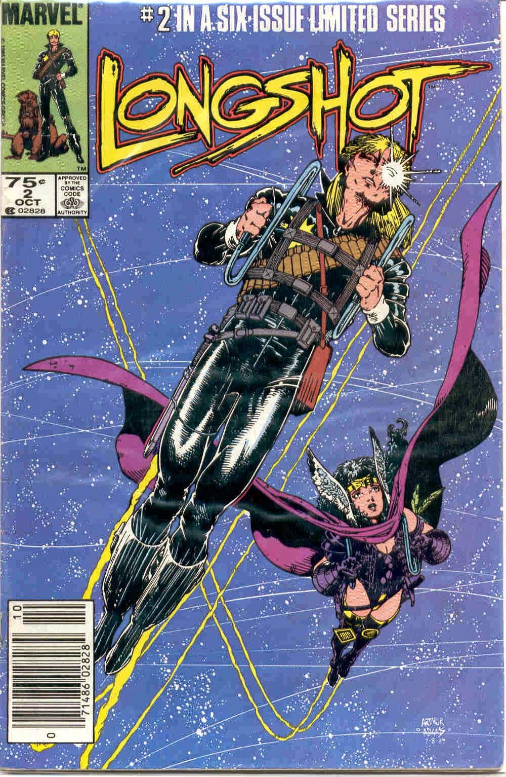 Histórias em Quadrinhos - Longshot