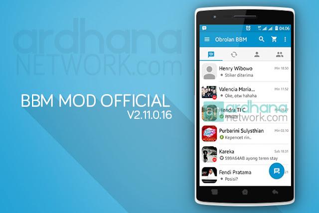 BBM MOD Official V2.11.0.16