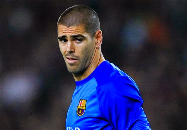 Victor Valdes Signed Manchester United