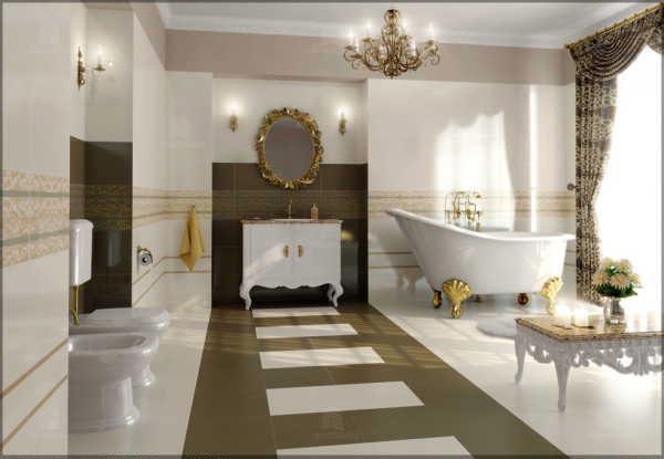 Luxury and elegant interior designs bathroom interior for Exquisite interior designs