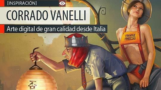 Arte digital de gran calidad de CORRADO VANELLI