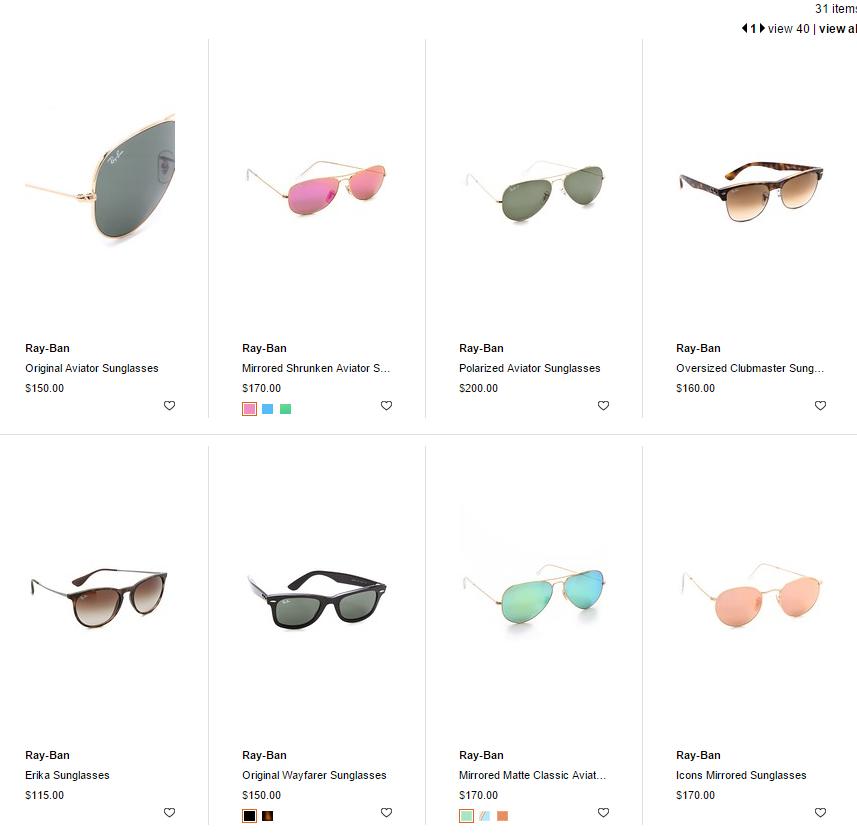 a665d8031c Huge Shopbop Sale including Ray-Ban sunglasses!
